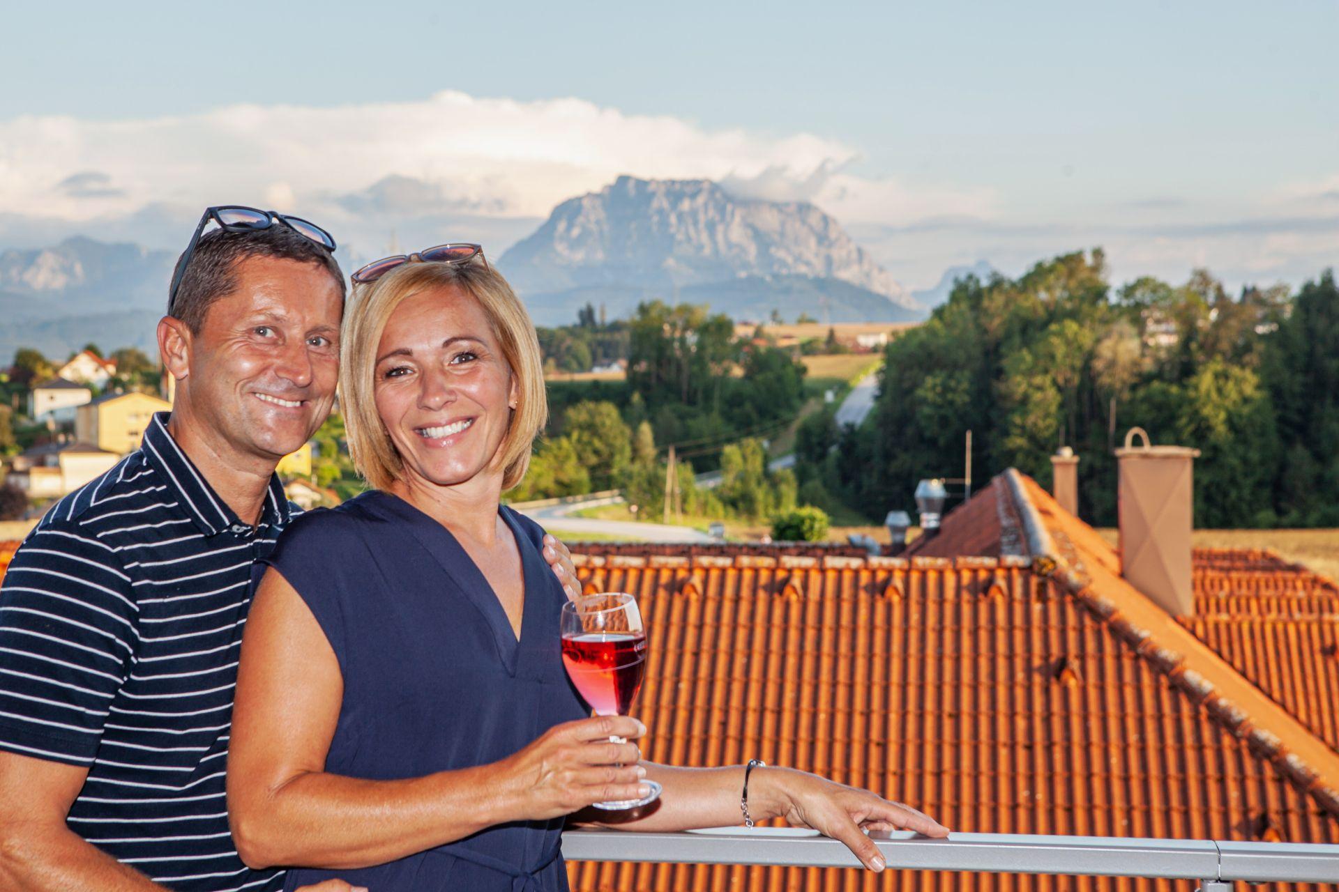 Panoramasuite Traunstein im Wellness-Hotel Enichlmayr