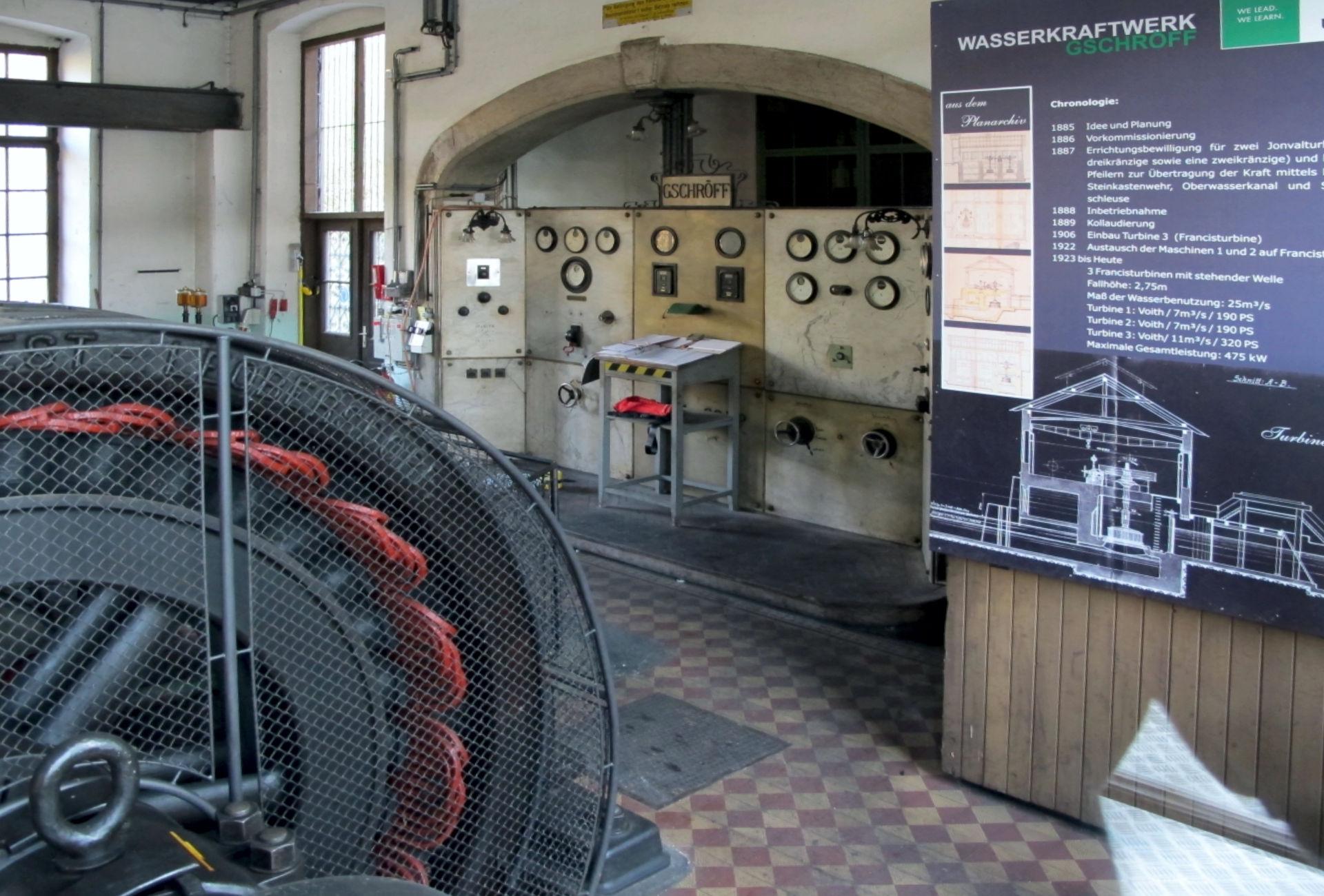 Schaukraftwerk Gschröff